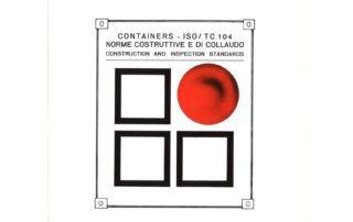 Containers - ISO/TC 104 Norme costruttive e di collaudo